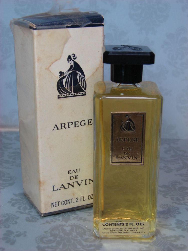 Vtg Arpege Eau De Lanvin 2 Oz Perfume Nib Eau De Parfum Ebay