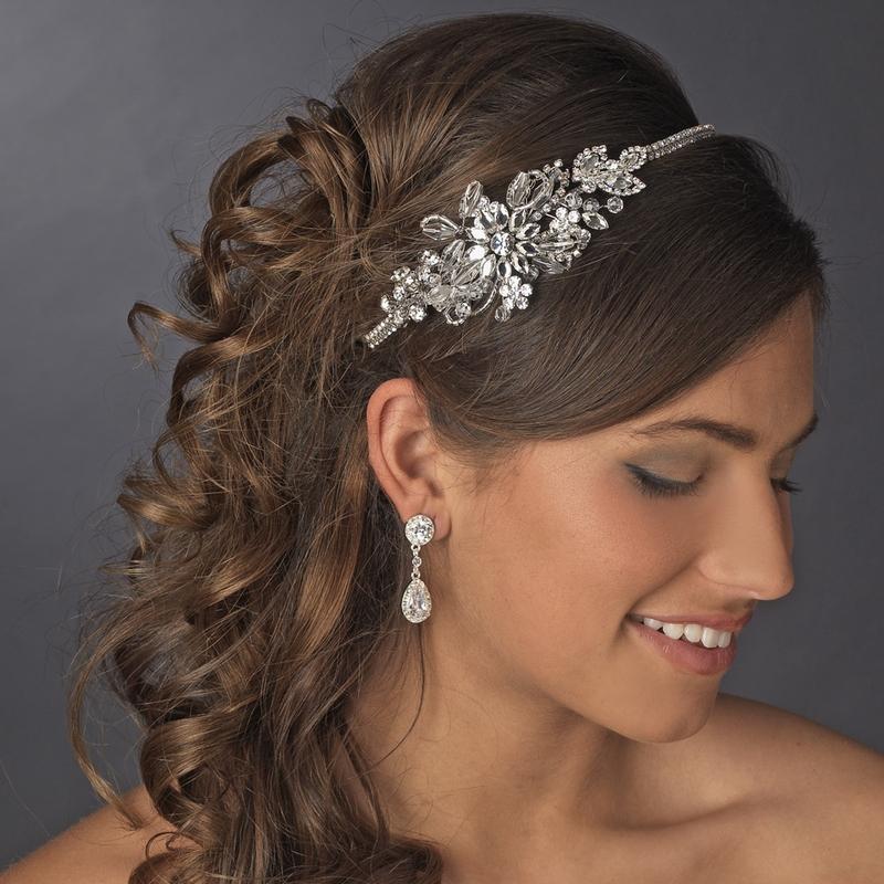 Wedding Bridal Headband Model
