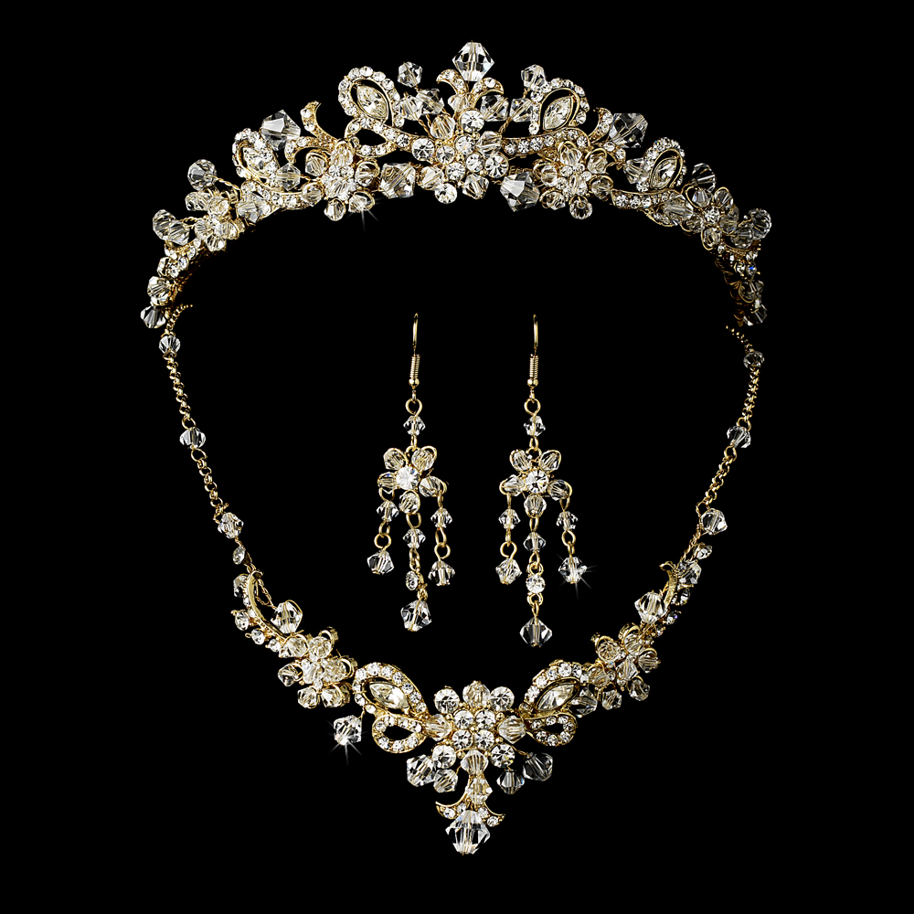 Stunning Gold Wedding Jewelry Necklace Sets 1000 x 1000 · 442 kB · jpeg
