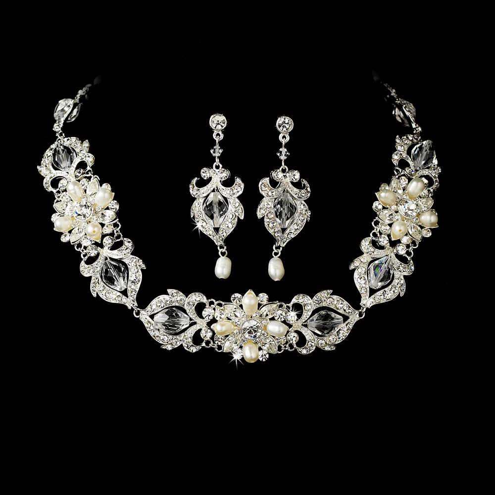 Remarkable Bridal Jewelry Sets Necklace and Earrings 1000 x 1000 · 377 kB · jpeg